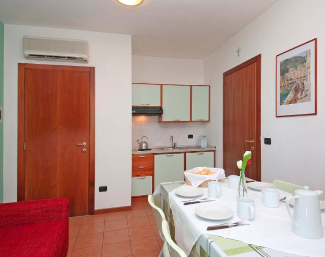 Apartment B6 3-Raum-Apartments für 4-6 Personen (ca. 50qm)