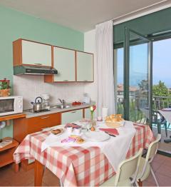 1-Raum-Apartmentsfür 2-3 Personen (ca. 25mq) ...