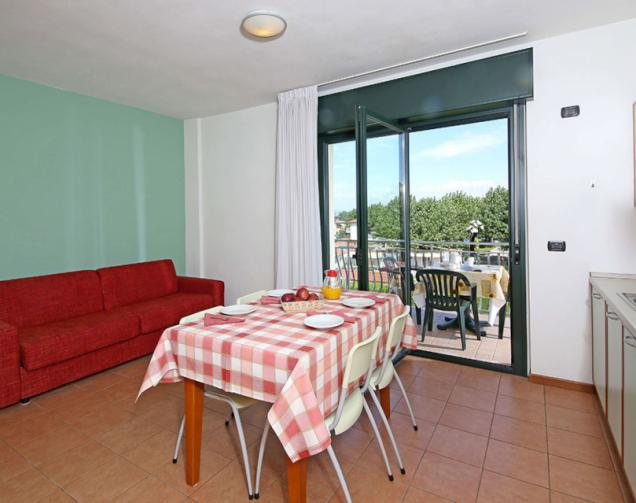 Apartment ST4 1-Raum-Apartments für 2-4 Personen (ca. 25/30qm)