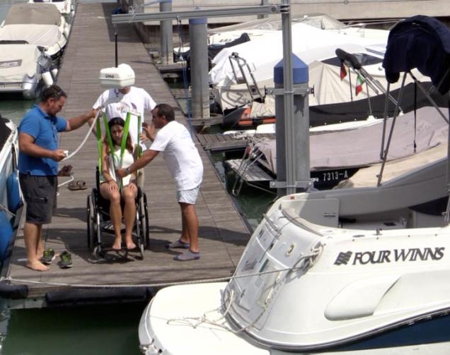 Bootsliegeplätze am Gardasee