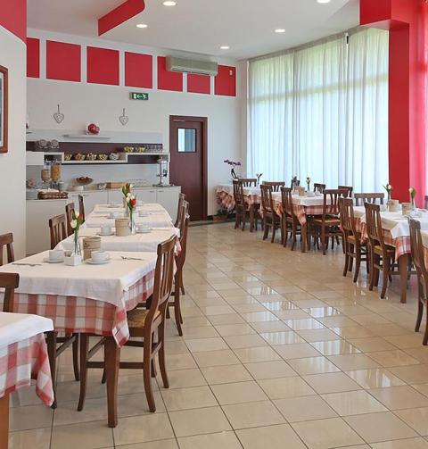 Frühstücksraum Nettuno Residence Hotel